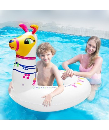 Inflatable Pool Float White...