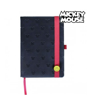Notebook Mickey Mouse A5 Black