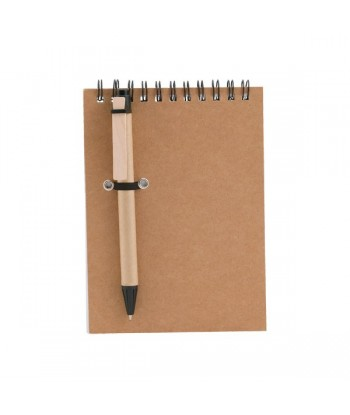 Spiral Notebook with Pen...