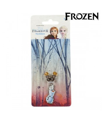 Girl's Necklace Olaf Frozen...
