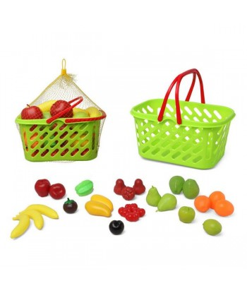 Basket with Fruit Green (27...