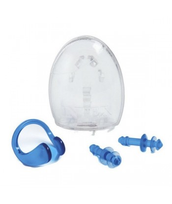 Ear plugs and nose clips...
