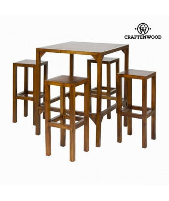 High table with 4 stools -...