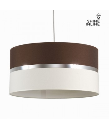 Wenge canvas roof lamp by...