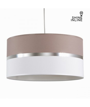 Ash and white ceiling lamp...