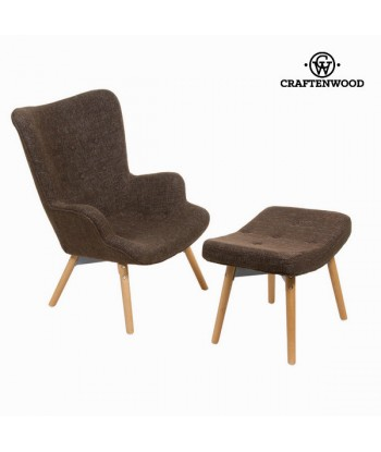 Chair with footrest by...